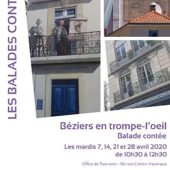 BALADE CONTÉE BÉZIERS EN TROMPE-L'OEIL
