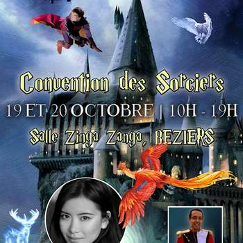 CONVENTION DES SORCIERS - SALON HARRY POTTER