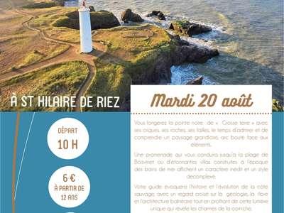 """VISITE GUIDÉE """"LITTORAL ET ARCHITECTURE BALNÉAIRE"""" 20-08-19"""