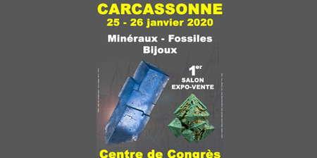 SALON MINÉRAUX - FOSSILES - BIJOUX