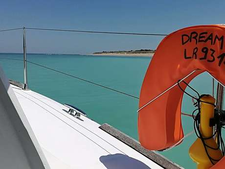 BALADE DE 2 HEURES EN CATAMARAN PAR DREAM'ON