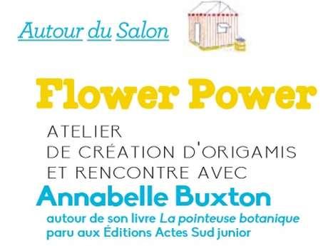 """Atelier de création """"Flower Power"""""""