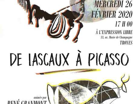 Conférence de l'Université Populaire de l'Aube - De Lascaux à Picasso