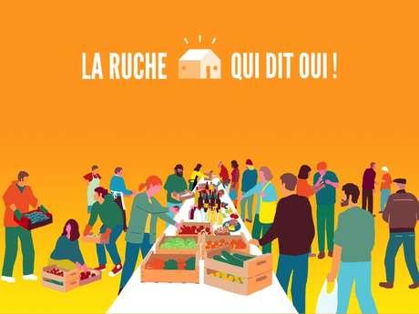 La Ruche qui dit Oui à Saint-Ghislain