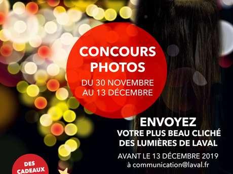 """Concours Photos """"Un Noël Renversant à Laval"""""""