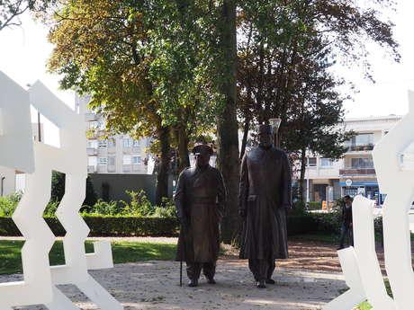 Statue De Gaulle-Churchill