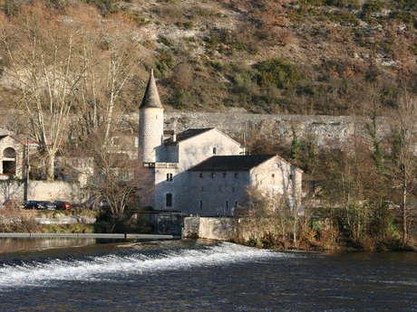 Cahors depuis la rivière