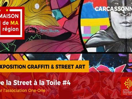 EXPO - DE LA STREET À LA TOILE #4 // REPORTEE //