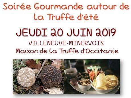 SOIRÉE GOURMANDE AUTOUR DE LA TRUFFE