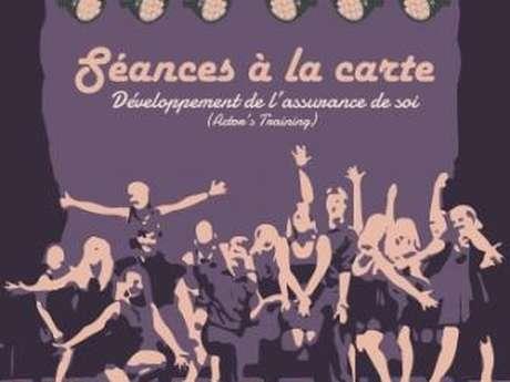 "Theater session ""à la carte"""