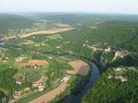 Bourg de Saint-Cirq-Lapopie