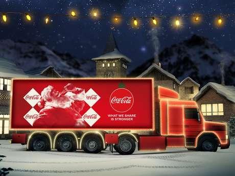 Camion de Noël Coca-Cola - Mons