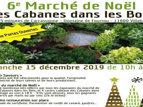6 EME MARCHE DE NOEL LES CABANES DANS LES BOIS