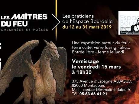 Exposition autour du feu avec l'Espace Bourdelle