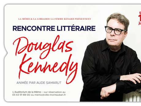 Douglas Kennedy literary meeting