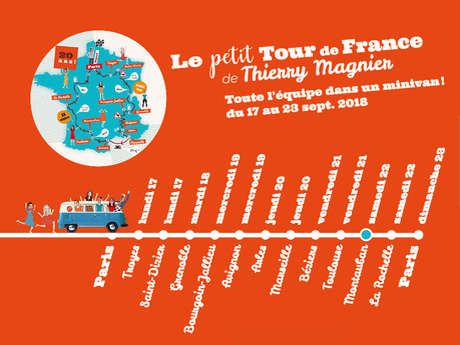 The little tour of France by Thierry Magnier