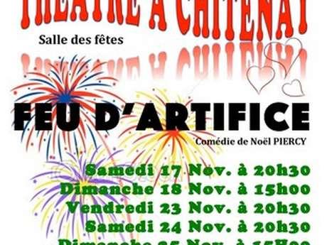 Théatre à Chitenay : Feu d'artifice