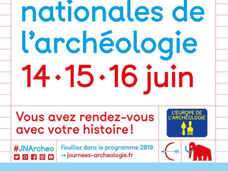Journées Nationales de l'Archéologie à Entrammes