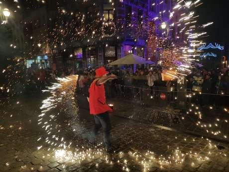 Mons Coeur en Neige – Fire show