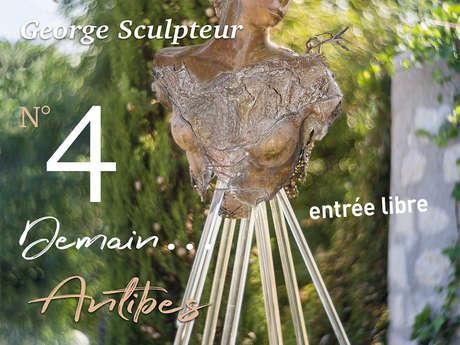 """Exhibition """"Libre Dérive"""" George Sculpteur"""