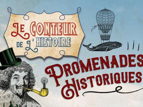 DÉCOUVERTE HISTORIQUE AVEC LE CONTEUR DE L'HISTOIRE