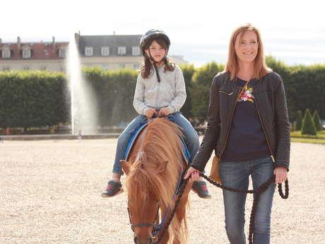 Epona Club - Balades à poney dans le Domaine national de Saint-Germain