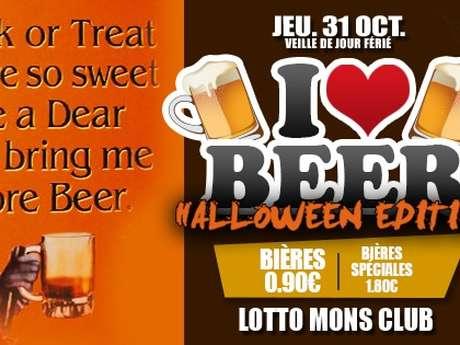 I love beer - Halloween edition