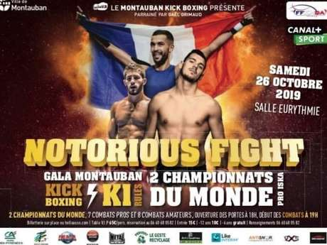 Notorious fight gala Montauban