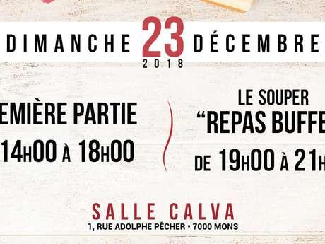 Journée Solidaire de Noël + Repas-Buffet