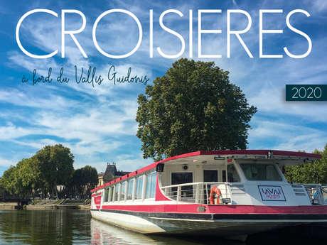 Idée cadeau : Croisières 2020 à bord du Vallis Guidonis