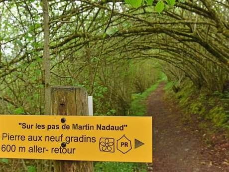 """Circuit Pédestre N°62 """"Sur les pas de Martin Nadaud"""""""