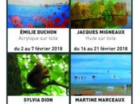 Les mois des artistes - La loge des Beaux-arts