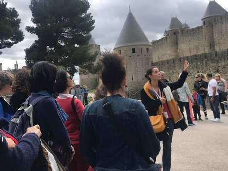 """Guided tour - Carcassonne Unusual """"Chapter 1"""" - paysdoc.com"""