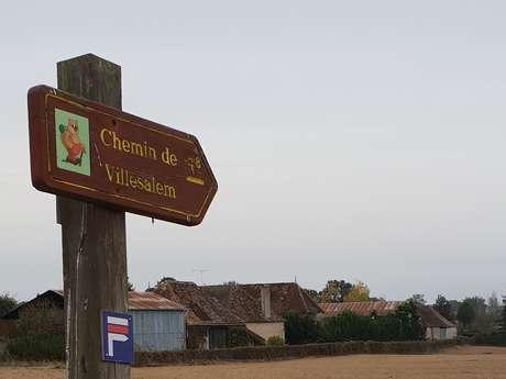 Les Chemins de Villesalem / Boucle 12
