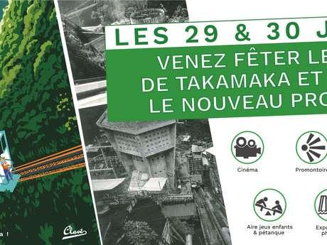 50 ans de l'usine hydraulique de Takamaka