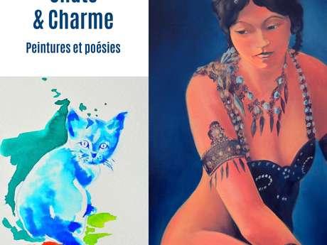 EXPO - CHATS & CHARME | PEINTURES ET POÉSIES