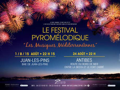 Feux d'artifice - festival pyromélodique
