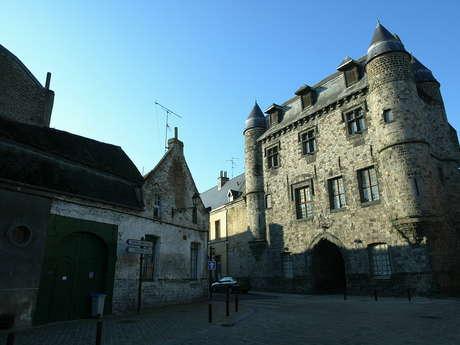 Le coeur historique de Condé-sur-l'Escaut