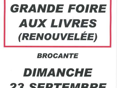 13 ème Foire aux Livres