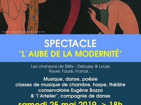 """Spectacle """"L'Aube de la Modernité"""""""