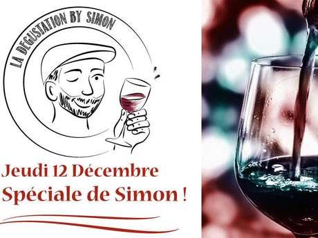 Thursday special tasting Simon