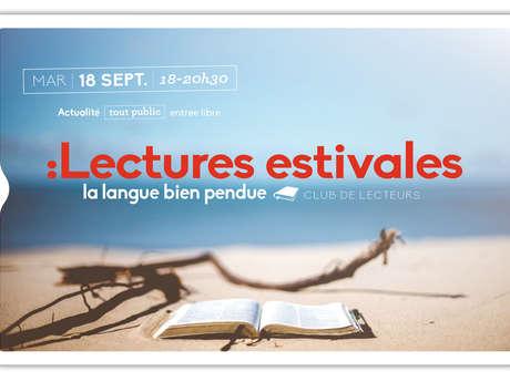"""Clubs des lecteurs """"Lectures estivales"""""""