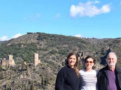 Excursion en minibus - Les quatre châteaux de Lastours