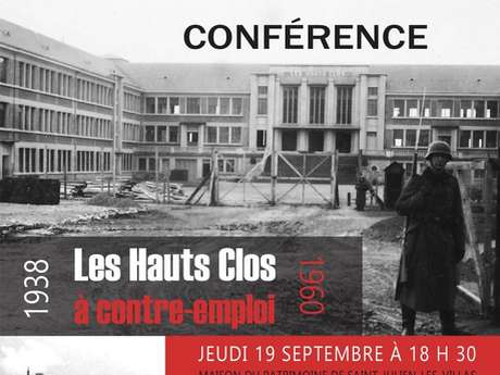 Conférence - La paradoxale histoire des Hauts-Clos