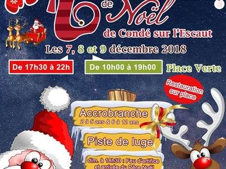 Marché de Noël de Condé/Escaut