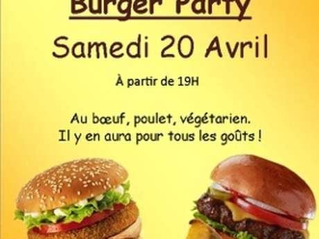 Burger Party à l'Antre Pote