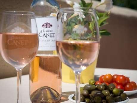 Degustación de vinos - Château Canet