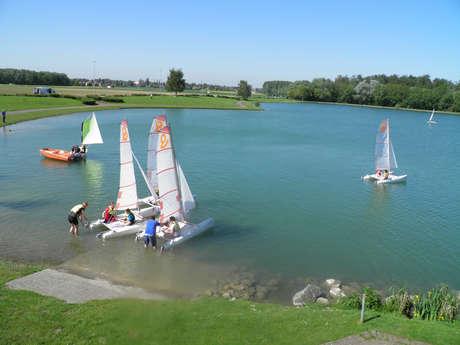 Planche à voile, stand-up paddle ou canoë-kayak - Parc Marcel Cabiddu