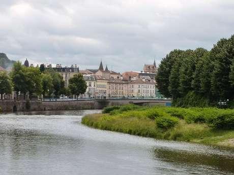 Le long de la Moselle
