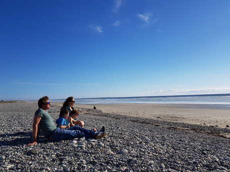 Liaison bourg - plage : Tréogat - Plage de Kerbinigou